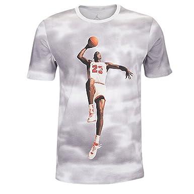 Amazon.com: Nike Jordan Flyover – Camiseta boys (Tamaño ...
