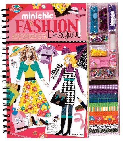 Mini Chic Fashion Designer Book and Kit, Baby & Kids Zone