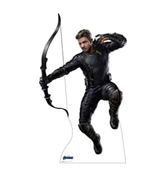 Buy Advanced Graphics Hawkeye Life Size Cardboard Cutout Standup Marvel S Avengers Endgame 2019 Film Online At Low Prices In India Amazon In