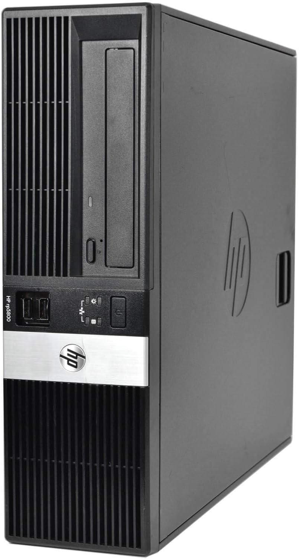 HP RP 5800 Small Form Factor Business PC, Intel CoreI5-2400, up to 3.4G, 4G DDR3, 250GB, VGA, Win10 64 bit-Multi-Language English/Spanish/French(CI5)(Renewed)
