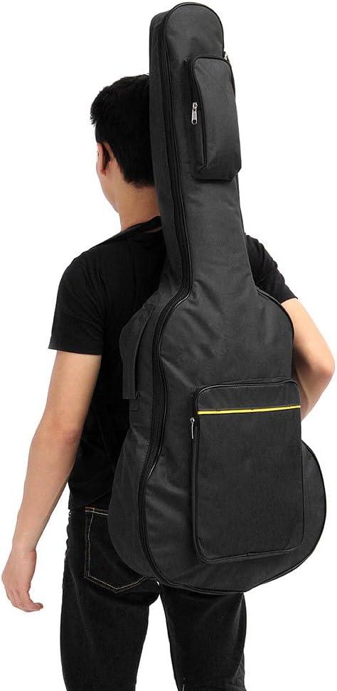 eamqrkt 41 Pulgadas Guitarra acústica clásica Mochila Gig Bag Doble Correa Acolchada Funda de Transporte