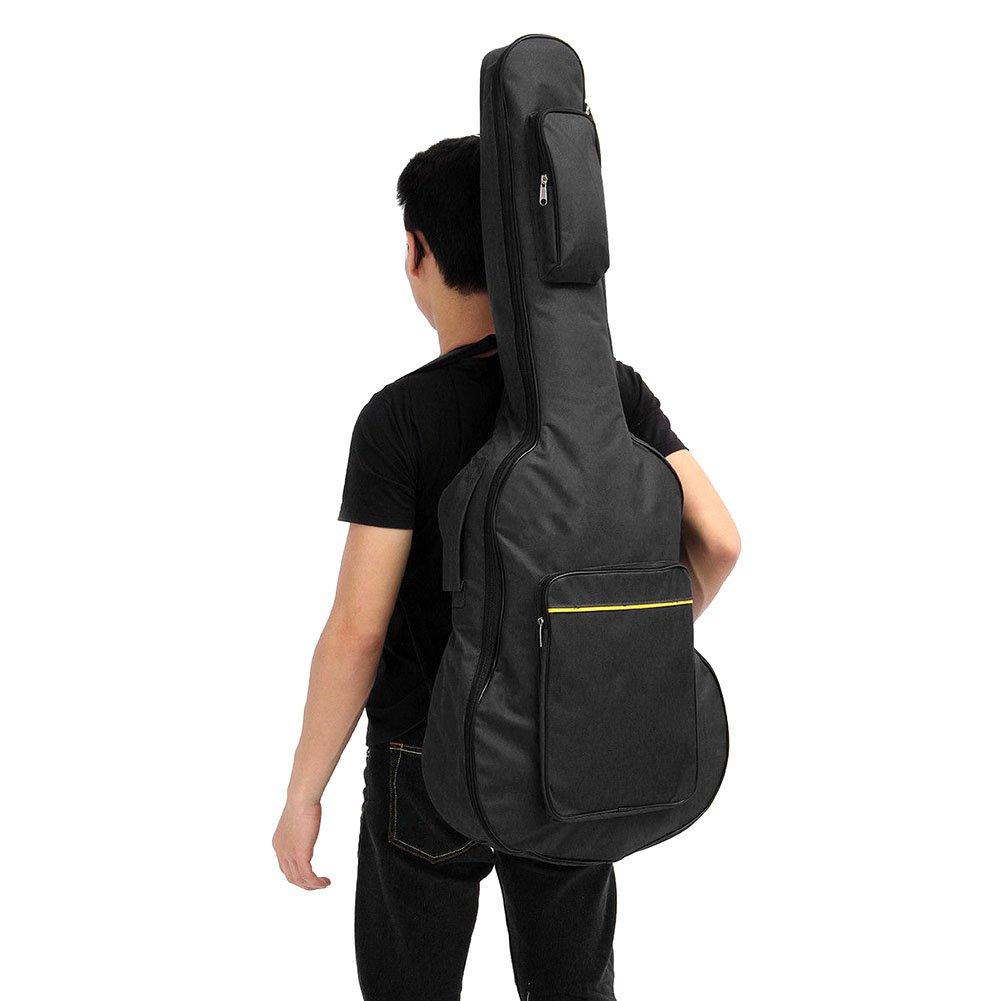 'lzndeal Custodia di chitarra 41Borsa di chitarra per chitarra classica acustica chitarra Zaino Gig Bag Dual Strap imbottito Carry Case