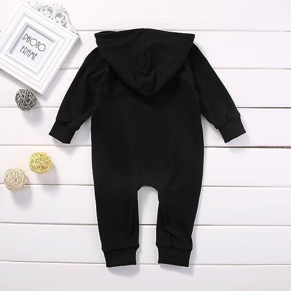 Zekky Newborn Infant Baby Boy Girl Kids Cotton Romper Jumpsuit Bodysuit Clothes Outfit