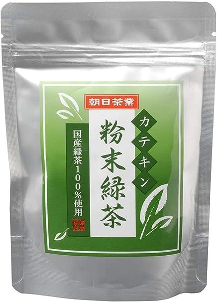 朝日茶業 カテキン粉末緑茶 100g×3袋