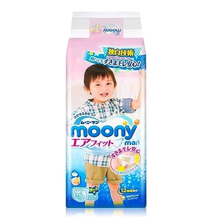 Pañales japoneses - bragas Moony XXL Boy (13-25kg.)// Japanese