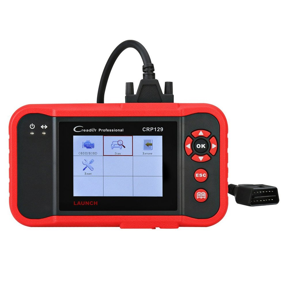 LAUNCH CRP129 OBD2 Scanner for ENG/at/ABS/SRS EPB SAS Oil Service Light Resets OBDII EOBD Auto Engine Code Reader Diagnostic Scan Tool