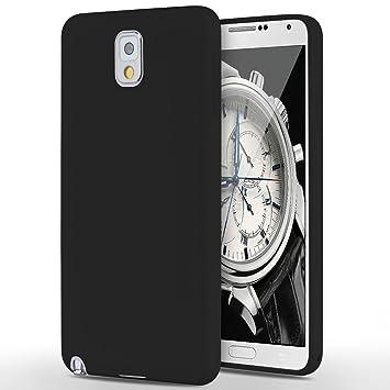 Yokata Funda para Samsung Galaxy Note3, Silicona TPU Ultra Suave Mate Carcasa Flexible Case Bumper Resistente a los Arañazos Anti Choque Soft ...