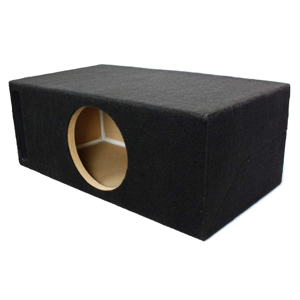 LAB SlapBox 0.75 ft^3 Ported / Vented MDF Sub Woofer Enclosure for Single Sundown Audio SA-8 v1 v2 v3 (SA8) Car Subwoofer - 3/4'' Premium MDF Construction - Made in U.S.A.