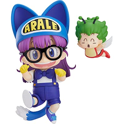 Good Smile Dr. Slump Arale Chan: Arale Norimaki (Cat Ears Version Gatchan) Nendoroid Action Figure: Toys & Games