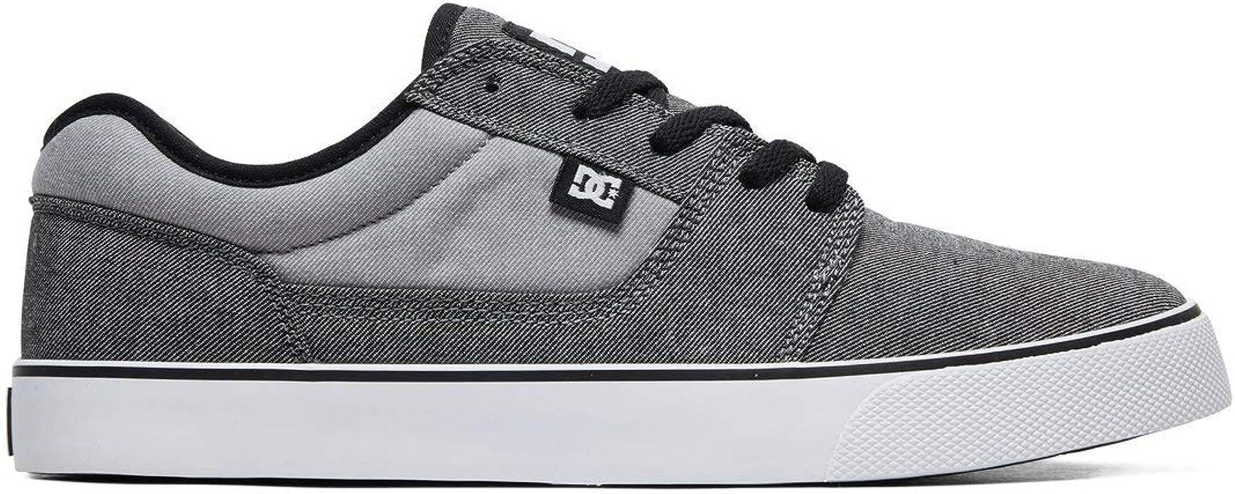 DC Shoes Tonik TX SE Sneakers Skateschuhe Herren Grau/Schwarz
