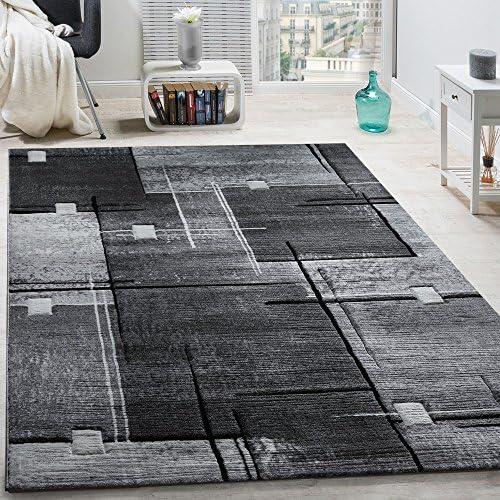 Tappeto Moderno Soggiorno Pelo Corto Comodo Conveniente mélange in Grigio Crema, Dimensione:70x250 cm