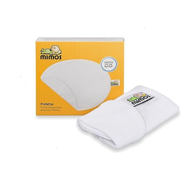 Amazon.com: Mimos Almohada para bebé para plagiocefalia y ...