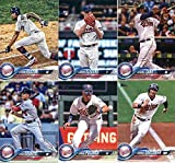 Minnesota Twins 2018 Topps Complete Mint Hand Collated 25 Card Team Set with Joe Mauer, Miguel Sano and Byron Buxton Plus