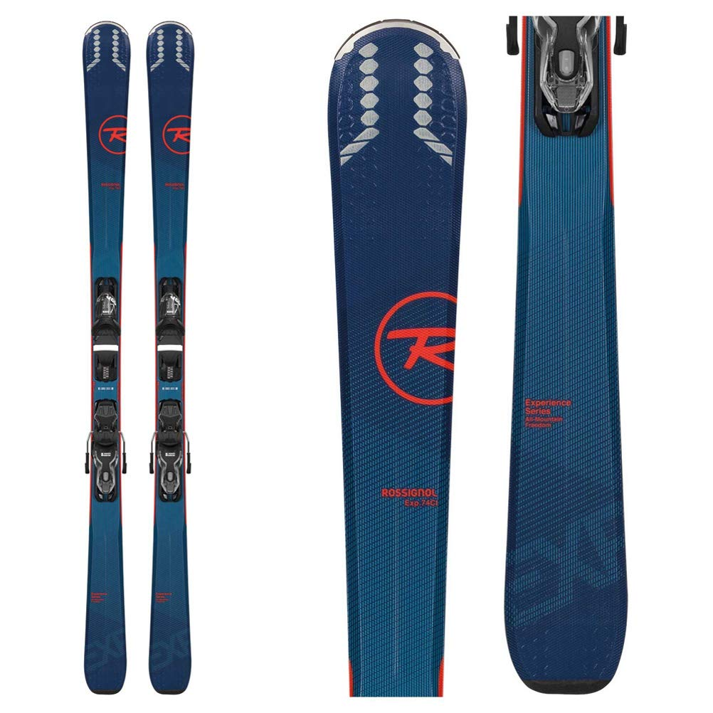 Rossignol Experience 74 Skis + Xpress 10 バインディング - 2020 - メンズ  168 cm