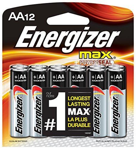 Energizer E91BP12 Max AA12 Batteries