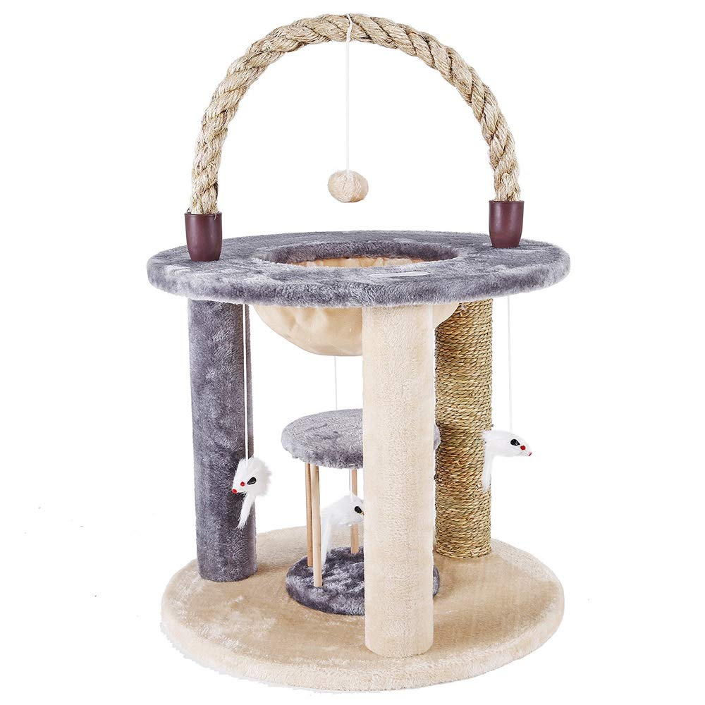 Jia He Cat Tree Small cat Tree Spring and Summer New Climbing Frame pet Toy pet nest @@