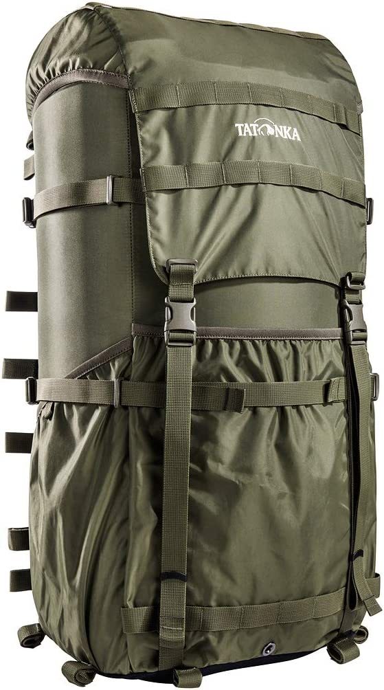 Tatonka Unisex/ Olive 66 x 34 x 25 cm Erwachsene Packsack 2 Lastenkr Kraxe
