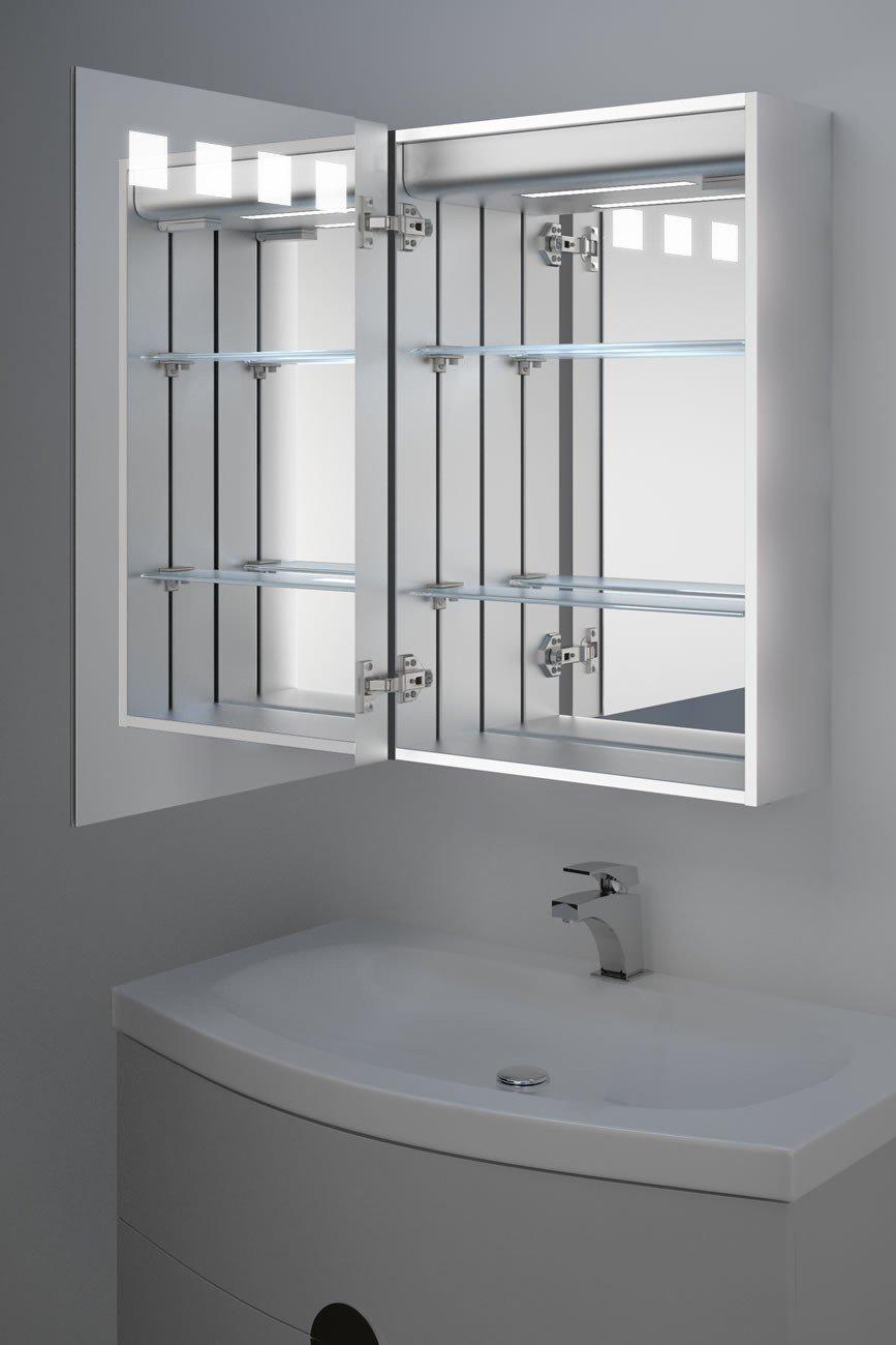 Diamond X Collection Nova Demister Led Bathroom Mirror