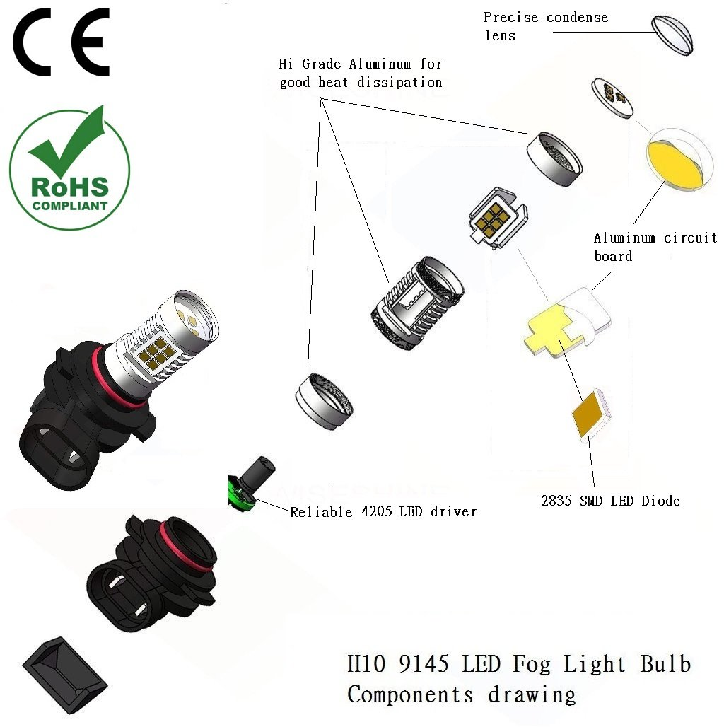 h10 bulb diagram trusted wiring diagram hid bulbs 9004 wiring-diagram  amazon com h10 9145