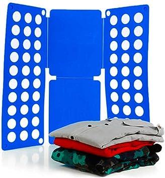 Ociodual Doblador de Ropa Camisas Camisetas Jersey Doblar Adulto Plegar Plegador Azul: Amazon.es: Electrónica