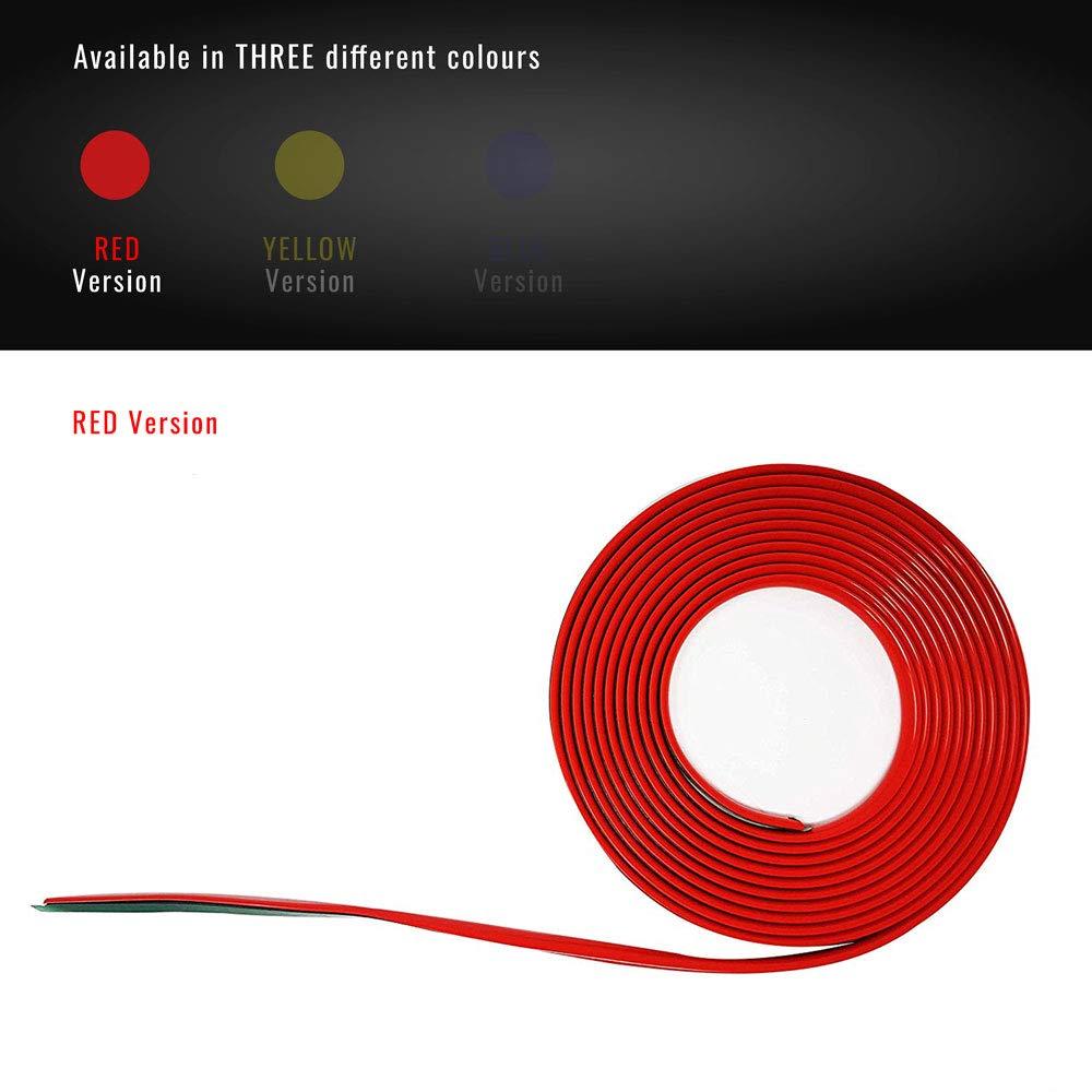 Profil rouge adh/ésif pour DAM pare-chocs avant Alfa Mito