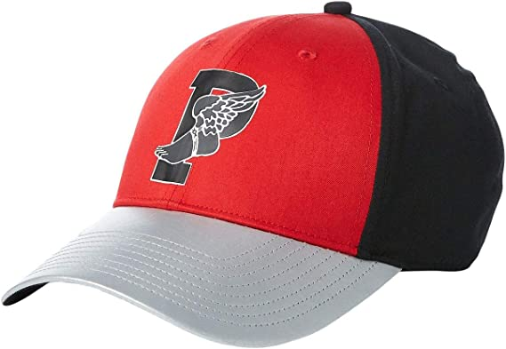 Polo Ralph Lauren P-Wing Color Block Baseball Cap Black/Red/Silver ...