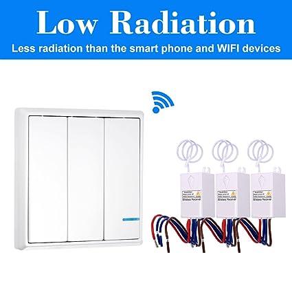 amazon com owsoo wireless switch ac 80 150v transmitter switch rh amazon com