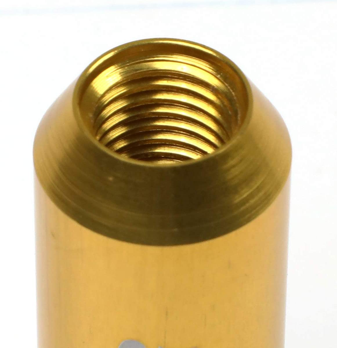 J2 Engineering LN-T7-003-15-SL Silver 7075 Aluminum M12X1.5 20Pcs L 60mm Open End Lug Nut w//Socket Adapter