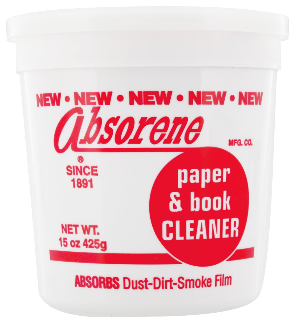 Absorene book and document cleaner by Absorene