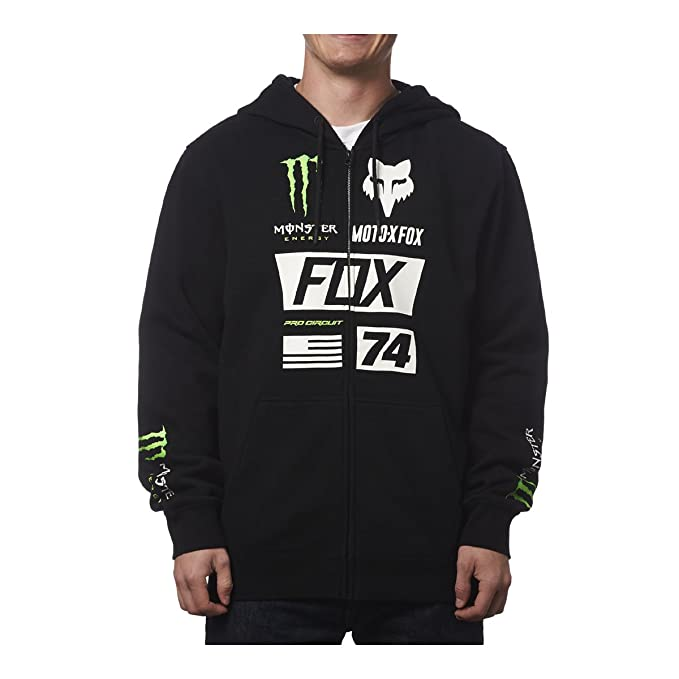 FOX Pro Circuit Herren Zip Hoody Monster Union schwarz