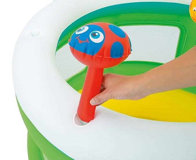 Bieco 22052221 - Parque hinchable con centro de juegos para ...