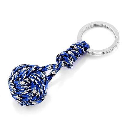 oukerst Paracord - Llavero con cuerda para muñeca: Amazon.es ...