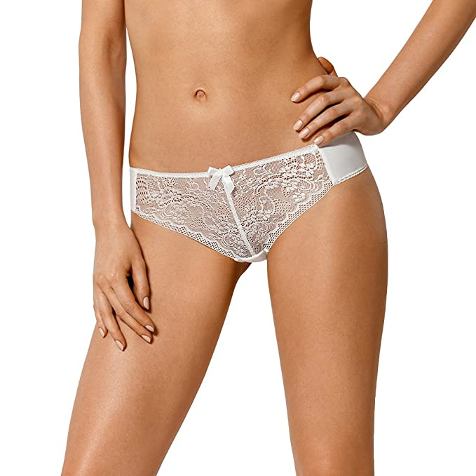 479fa480f9fb0e Nipplex Elise Knickers Briefs for Women lace (Matching Bra Available) -,  Ivory,