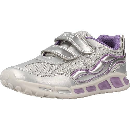 Geox J Shuttle C, Zapatillas para Niñas: Amazon.es: Zapatos y complementos