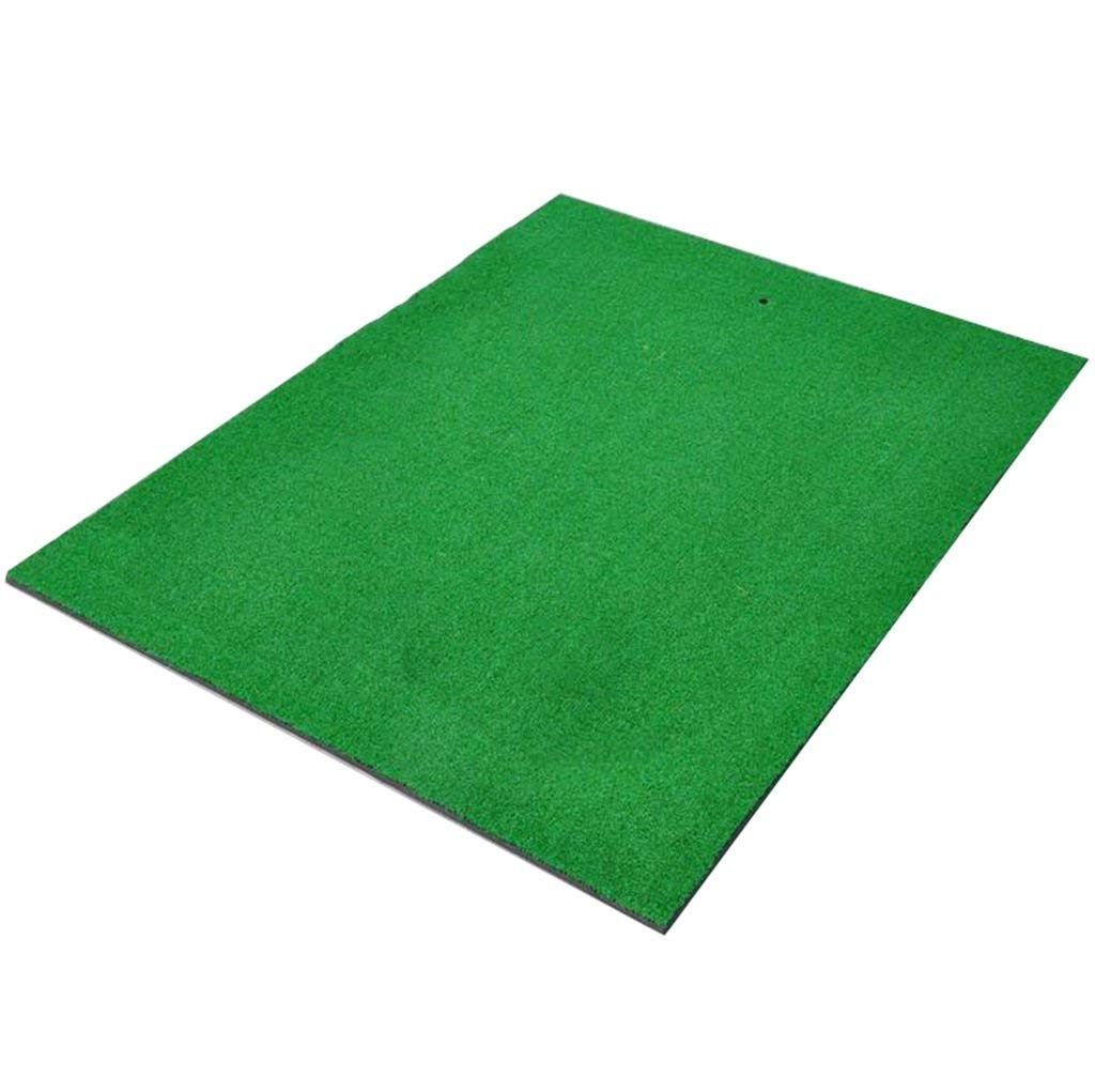 ゴルフマットホームゴルフ練習マット - ポータブルゴルフ練習場用マットグリーン-900mm x 1200mm x 18mm   B07N422H6S