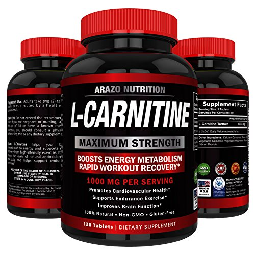 ARAZO Nutrition Maximum Strength L-Carnitine