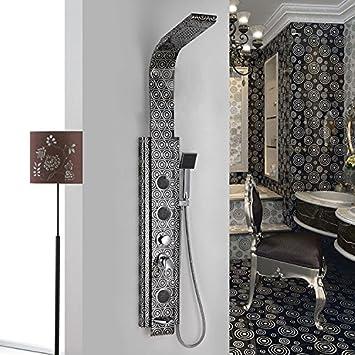 Columna de ducha de acero inoxidable de alta calidad (1400 x 200 x ...