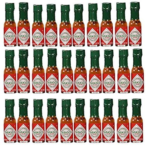Tabasco brand Pepper Sauce 30-pack Miniatures 1/8oz Bottles (Tabasco Island Louisiana Avery)
