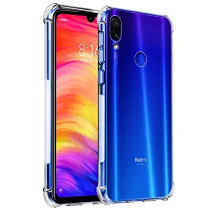 1ea528f5d5f0f4 X wox™ Back Case Cover for Xiaomi Redmi Note 7: Amazon.in: Electronics