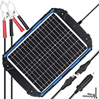 SUNER POWER Upgraded 12V Waterproof Sola...
