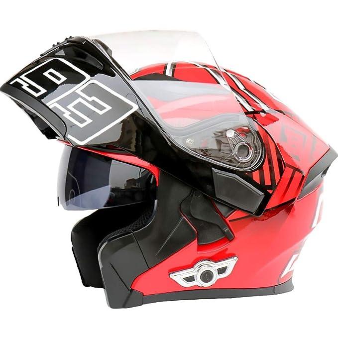 Amazon.es: Casco de moto ABS Multifunción Bluetooth Adulto ...
