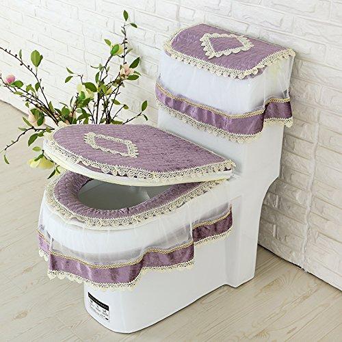 F GH-Three piece toilet toilet cushion pad toilet toilet seat toilet waterproof pad general u,I