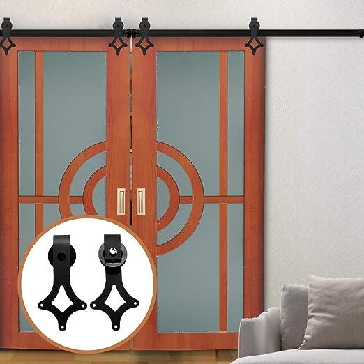 LWZH - Kit de accesorios para puerta corrediza de granero de 11 ...