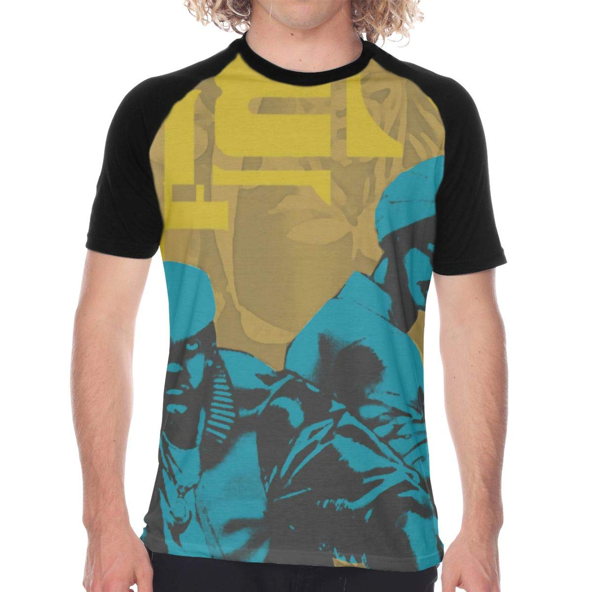 FwadGacx Outkast Atliens Mans Youth Stylish Short Sleeves Full Size Printed Baseball Tee Gift