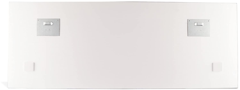 levandeo Glasbild 30x80cm Gewürze Kräuter Küche Küchenbild Löffel Wandbild