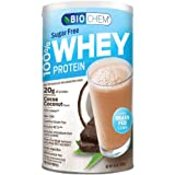 Country Life - Biochem Sugar - 100% WHEY Protein - COCOA COCONUT - Sugar Free - 20g of Protein(11.5 Ounce)
