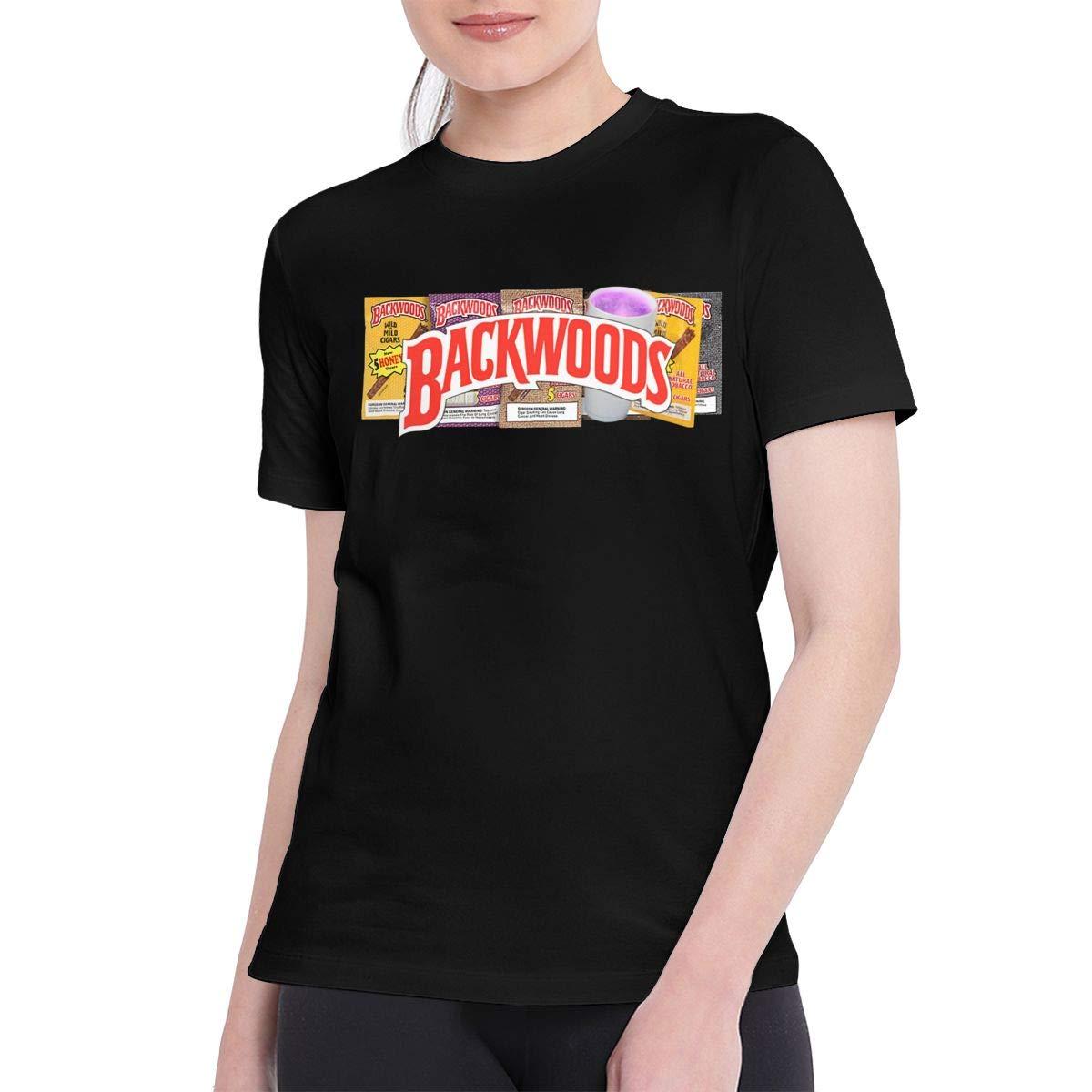 Samantha Naylor T Shirts For Fashion Backwoods Tee Black