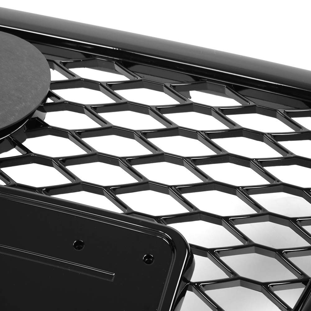 S4 B8 09-12. Qiilu Front Bumper Cover Bottom Grid Style,Bumper Grille for Audi A4