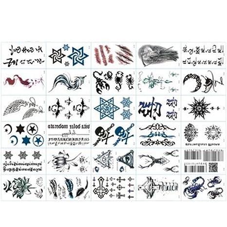 temporales tatuaje pegatinas populares Varios diseños Agua ...