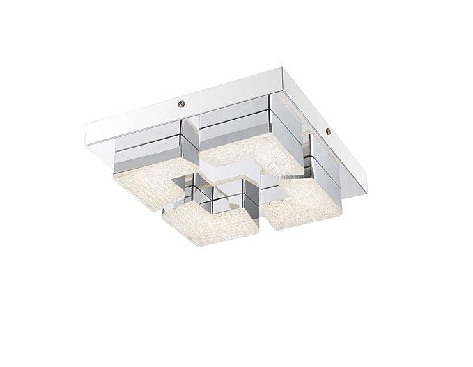 Lámpara LED de techo Piso rectangular lámpara de techo ...